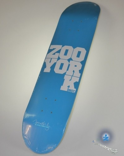 Zoo York Forrest Kirby Drop K Deck 7.5 inch 7-ply Canadian maple — Medium concave