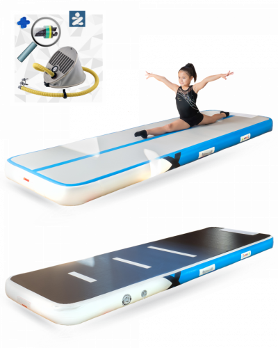 YouAreAir Turnmat — AirTrack Pro 4.0 | 3m | Opblaasbare mat pomp